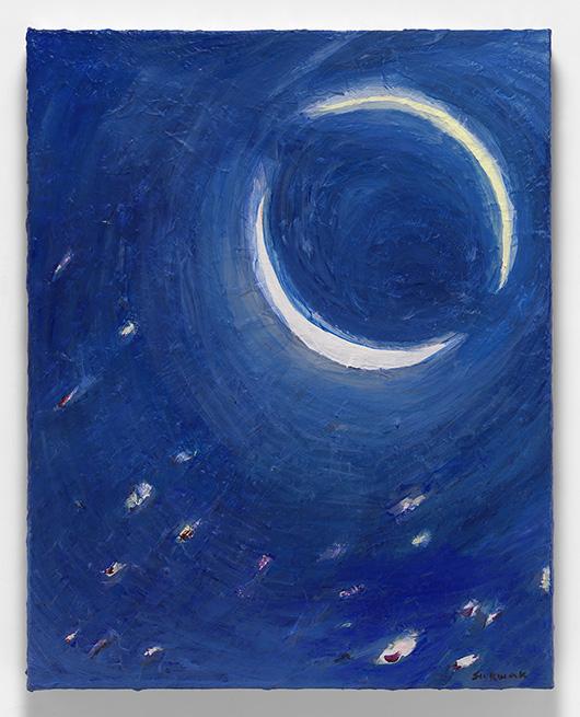 Su Kwak Light Within #3 2016 Acrylic on canvas 20 x 16 in (51 x 41 cm)